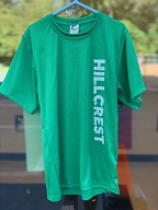 Green Athletic Short Sleeves Hillcrest T-shirt